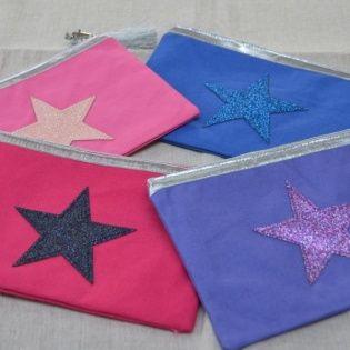 Pochette étoile
