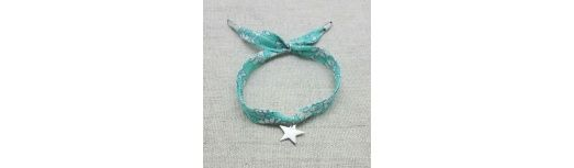 Bracelet liberty breloque Argent