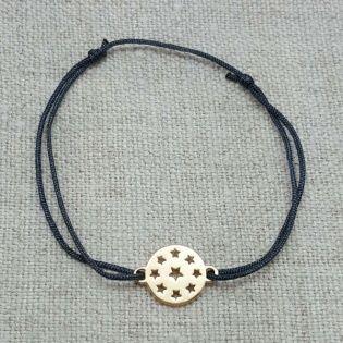Bracelet multi étoiles Argent ou Plaqué Or