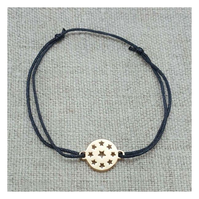 Bracelet multi etoiles Plaqué Or