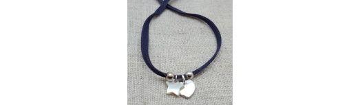 Bracelet breloque Argent ou Plaqué Or et nacre