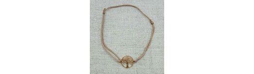 Bracelet arbre de vie Argent ou Plaqué Or