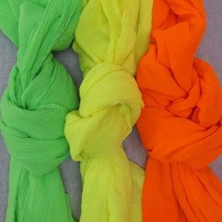 Foulard voile de coton