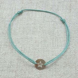 Bracelet cible etoile Argent