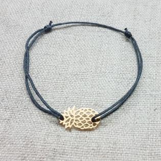 Bracelet ananas Plaqué Or ou Argent