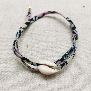 Bracelet coquillage lien liberty