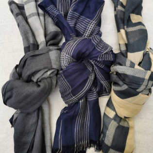 Foulard carreaux