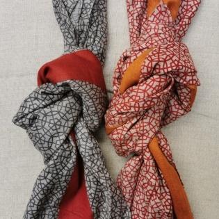 foulard imprimé mozaique