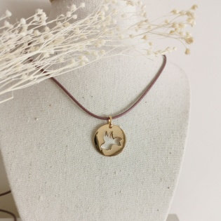 Collier cible colombe