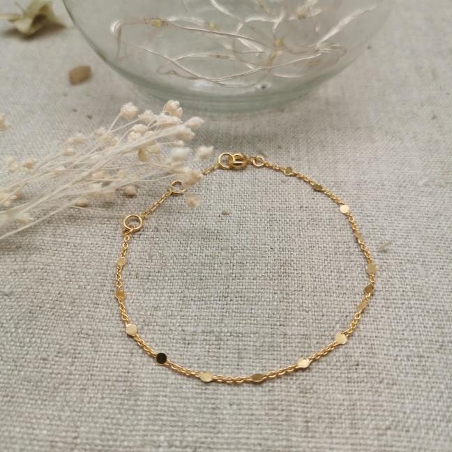 Bracelet arabesque Argent ou Plaqué Or