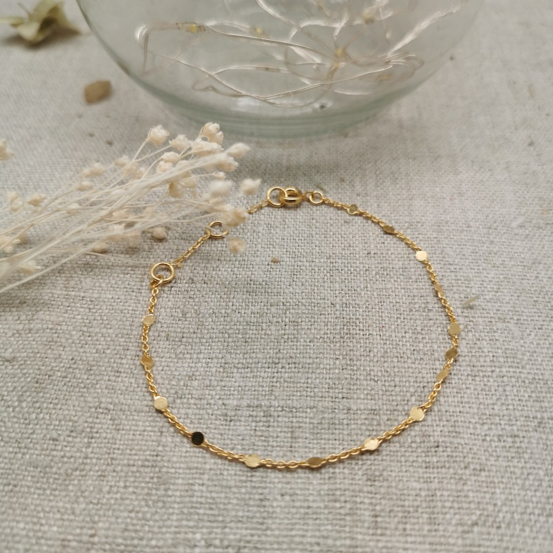 Bracelet Grosse Chaine Or - Or - Femme - 36€ - LEY