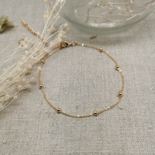 Bracelet cible arabesque Argent ou Plaqué Or