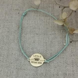 Bracelet little princess plaqué Or