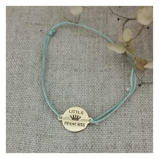 Bracelet little princess argent